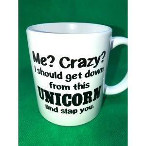 Coffee Mug - Crazy. Unicorn